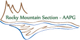 AAPG Rocky Mountain Section logo